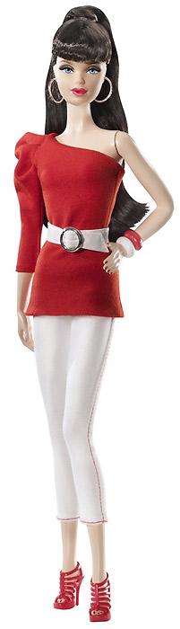 Коллекционная кукла Барби базовая коллекция Barbie Basics Collection Red