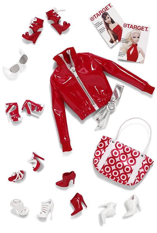 Набор одежды для Барби Barbie Basics Collection Red