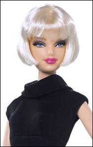 Коллекционная кукла Барби маленькое черное платье 09 Diva