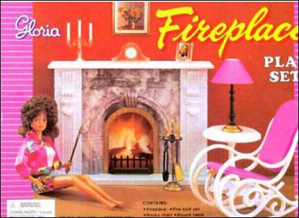 Кукольная мебель Gloria и кукла Gloria (Betty Tong) на фото