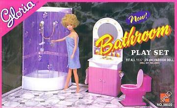 Кукольная мебель Gloria и кукла Gloria (Бетти) на фото