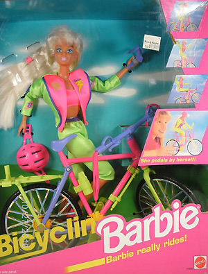 Кукла Барби велосипедистка Bicyclin Barbie