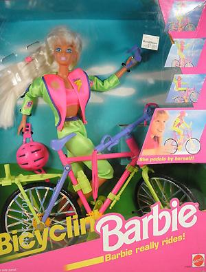 Кукла Барби велосипедистка Bicyclin Barbie