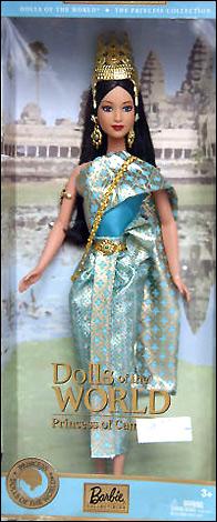 Кукла Барби Принцесса Камбоджи