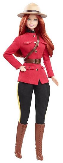 Коллекционная Барби Куклы Мира Канада
