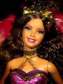 Портрет куклы Барби Карнавал