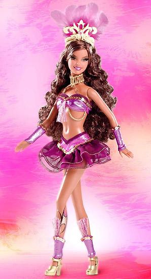 Коллекционная кукла Барби Карнавал