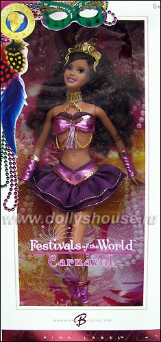 Коллекционная кукла Барби Карнавал в Рио
