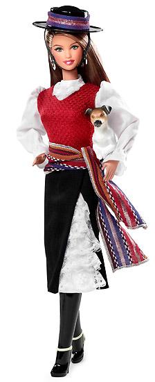 Кукла Барби Страны Мира Чили