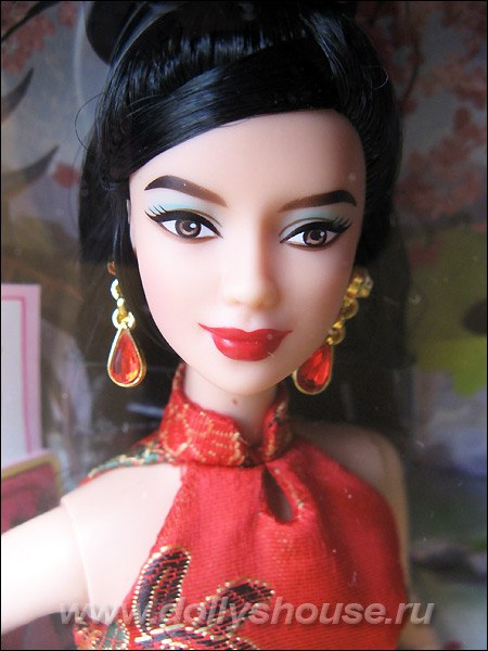 Кукла Барби Китай коллекционная китаянка