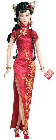 Коллекционная кукла Barbie Китайский новый год