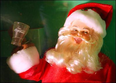 Коллекционная кукла Санта Клаус Coca Cola Santa
