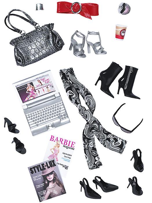 одежда для Барби и аксессуары Маленькое Черное Платье