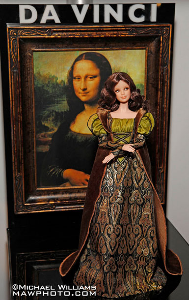 коллекционная барби Да Винчи Barbie Da Vinci Museum Collection