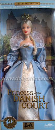 Коллекционная кукла Барби Принцессы Мира Принцесса Дании