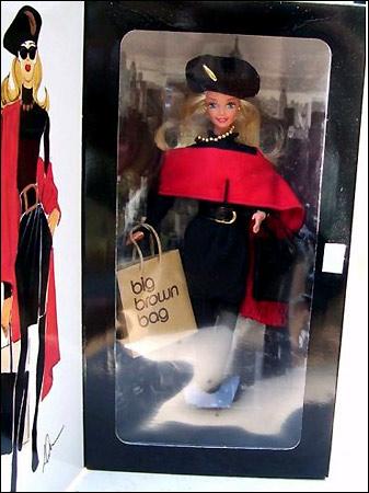 коллекционная кукла Барби дизайнерская Donna Karan Barbie