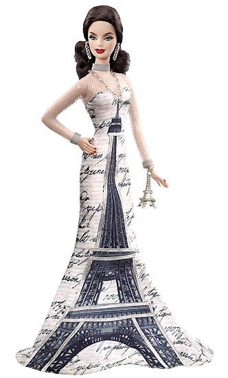 Кукла Барби Эйфелева башня французская