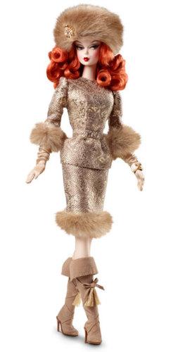 Коллекционная кукла Барби Barbie Silkstone Ekaterina