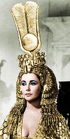 Элизабет Тейлор в роли Клеопатры