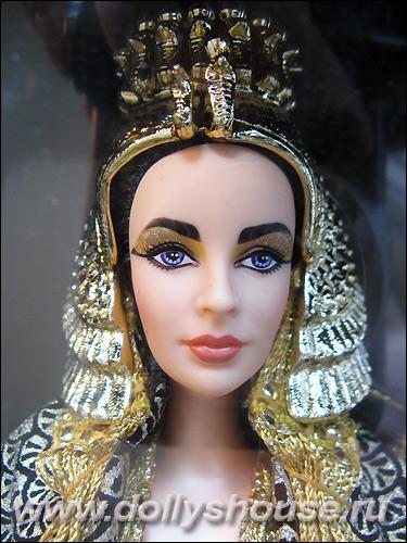 коллекционная кукла Барби Элизабет Тейлор Клеопатра