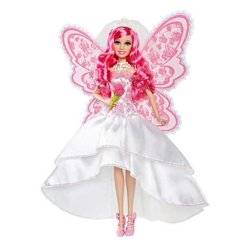 Кукла Барби Тайна Феи невеста жуткого качества
