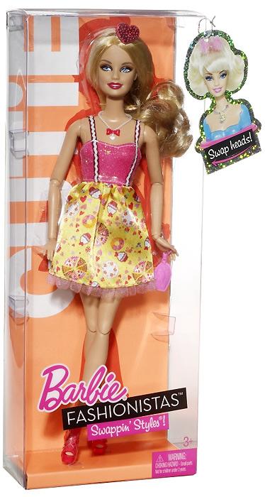Кукла Барби Fashionistas Cutie Swappin' Styles Смени Свой Стиль