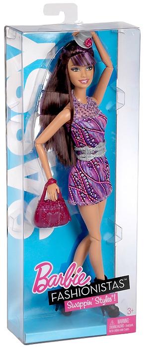 шарнирная кукла Барби Модная Штучка Смени Свой Стиль Sassy