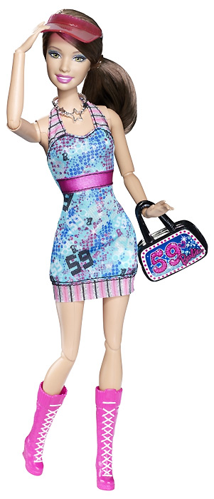 Шарнирная Барби Модная Штучка Смени Стиль Sporty