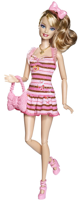Шарнирная Барби Модная Штучка Смени Стиль Sweetie