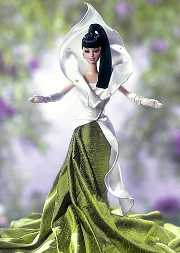 Коллекционная кукла Барби лилия калла