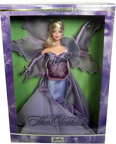 Коллекционная кукла Барби Орхидея
