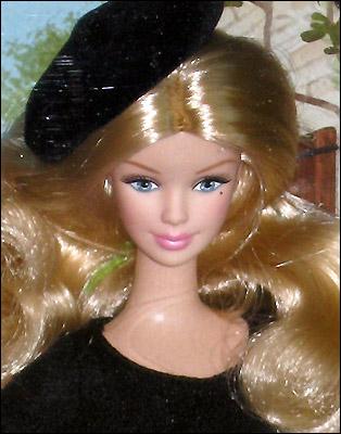 Коллекционная Барби Франция фото