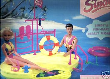 Набор для морского отдыха кукол Синди