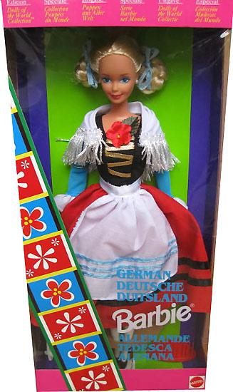 Коллекционная кукла Барби Германия
