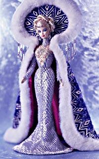 Коллекционная кукла Барби от Боба Мэкки Богиня Арктики Goddess of Arctic