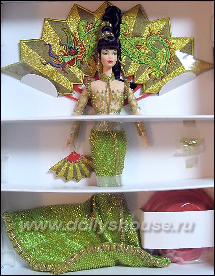 Коллекционная кукла Барби Богиня Азии Fantasy Goddess of Asia