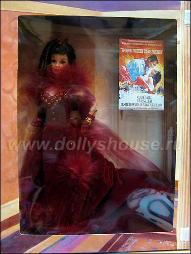 Коллекционная кукла Барби Скарлетт Scarlett O'Hara Barbie Red Dress