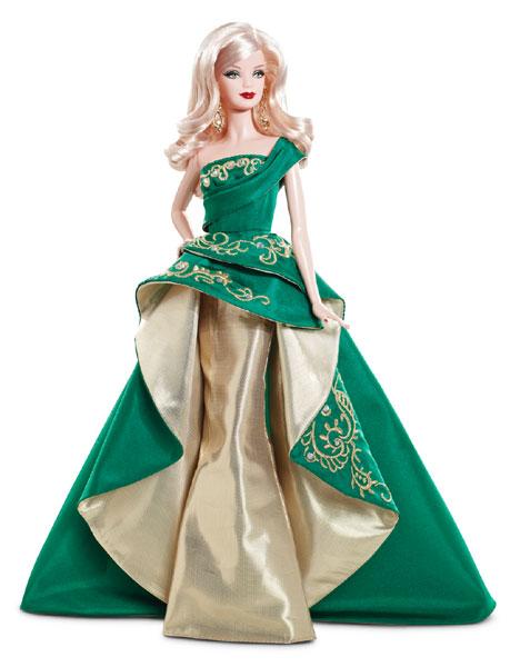Коллекционная кукла Барби Holiday Barbie