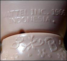 маркировка кукол Барби производство Индонезия