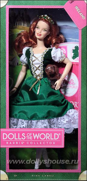 Кукла Барби ирландка