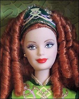 Кукла Барби коллекционная Ирландские танцы