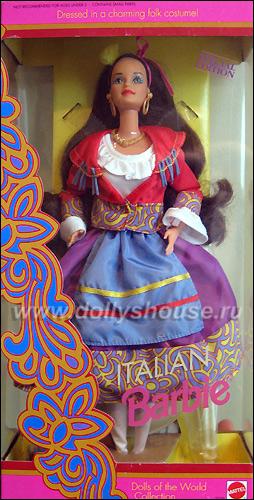 Коллекционная кукла Барби итальянка Italian Barbie