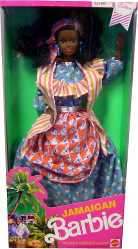 Коллекционная Барби темнокожая Ямайка