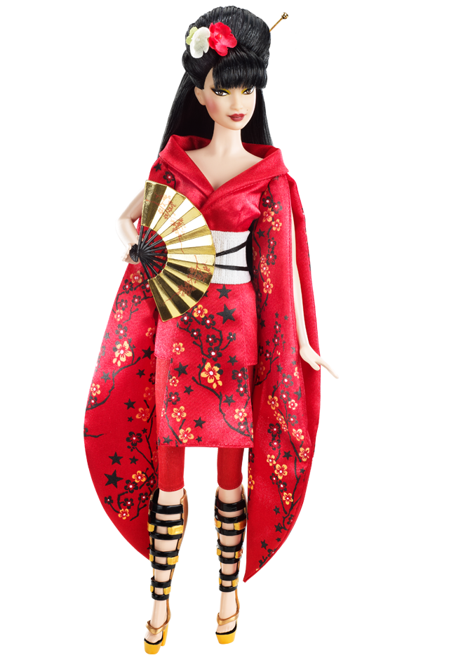 Japan Barbie. Dolls of the World — Barbie in Japan