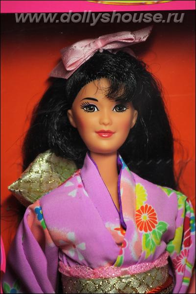 Кукла Барби японка коллекционная