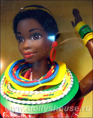 Кукла темнокожая Барби Kenyan Barbie