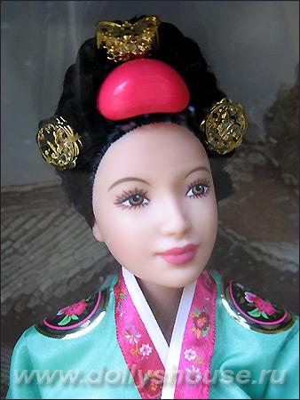 коллекционная кукла Барби азиатка принцесса Кореи