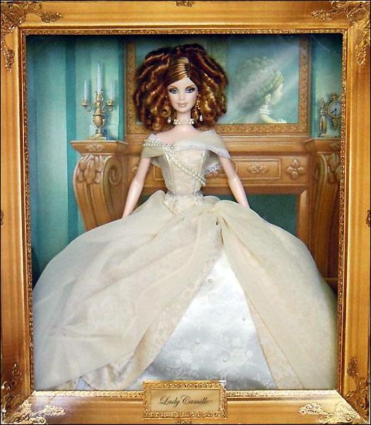 Коллекционная кукла Барби Lady Camille