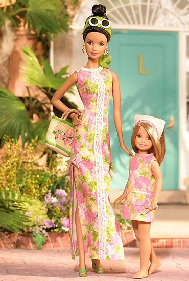 Коллекционная кукла Барби Лили Пулитцер Lilly Pulitzer Barbie