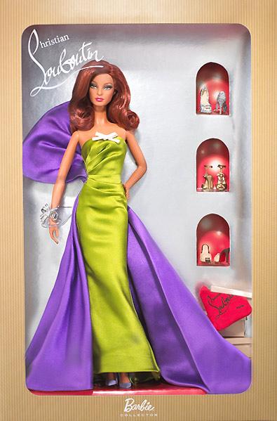 Коллекционная кукла Барби Анемон от Кристиана Лабутена